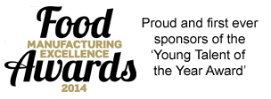 Food Manufacturing Excellence Awards 2014 Sponsorship - Food Industry Graduates Young Talent of The Year Award - b3 jobs FMCG Recruitment